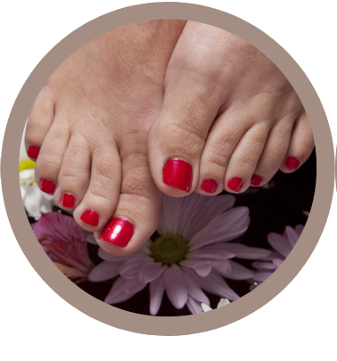 SBF pedicure rondje